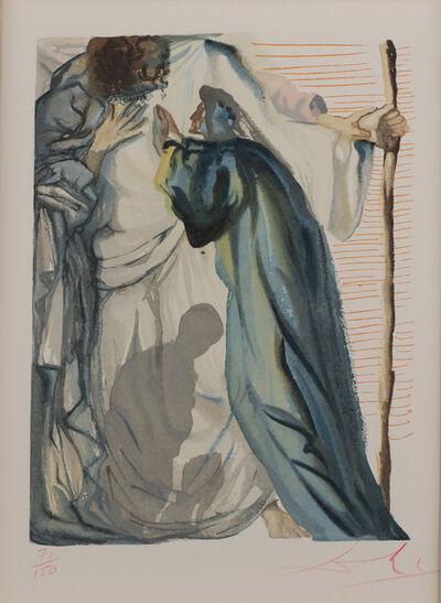 Salvador Dalí, 'La Divine Comédie: Purgatory Canto 14 - Un esprit interroge Dante (Prestel 1086) (A Spitit Questions Dante)', 1960