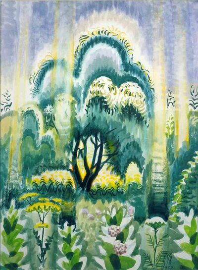 Charles Ephraim Burchfield, 'July Sunlight Pouring Down', 1952