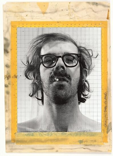 Chuck Close, 'Study for Self-Portrait', 1968