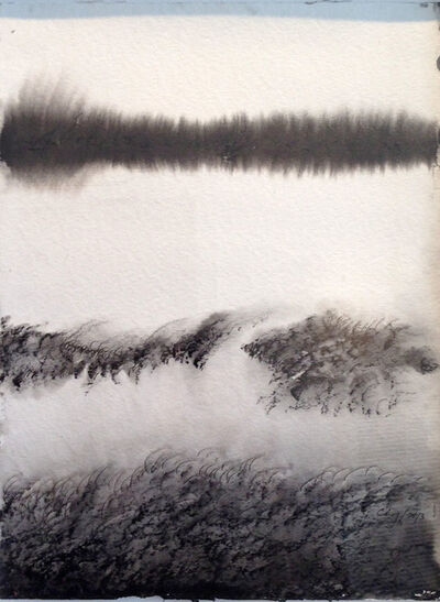 Jose Antonio Choy, 'Hsu, esperar. Venturoso cruzar las aguas tranquilas  - From the series The Ways of the I Ching', 2013
