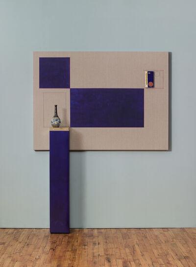 Kamrooz Aram, 'Blue Backdrop for Minor Arts', 2018