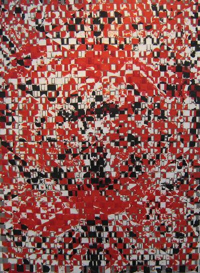 François Rouan, 'Queenqueg n°3, 1998-1999', 1998-1999
