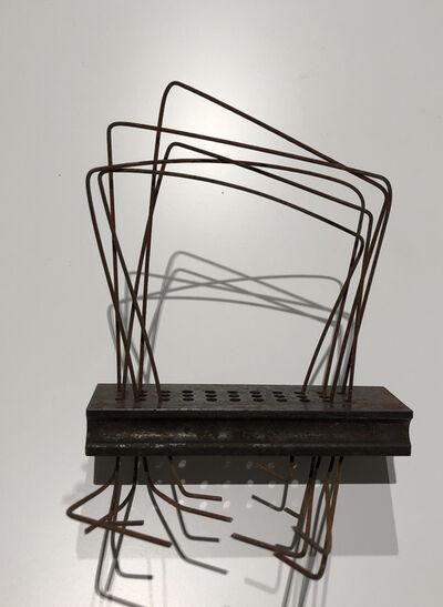 """Verónica Vázquez, 'De la Serie """"Esculturas en hierro y alambre""""', 2016"""