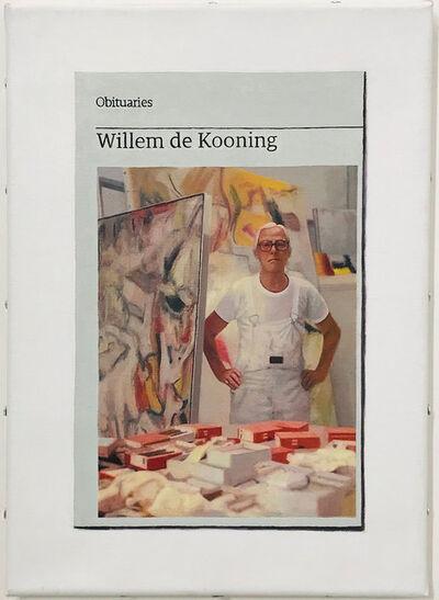 Hugh Mendes, 'Obituary: Willem de Kooning', 2017