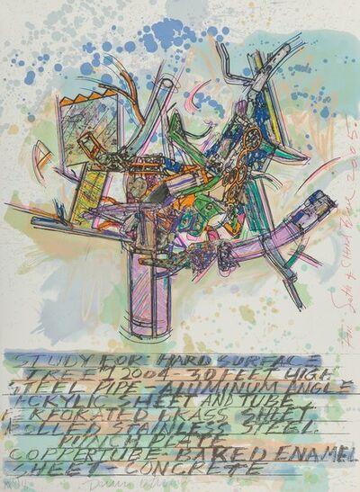 Dennis Oppenheim, 'Study for Hard Surface', 2005