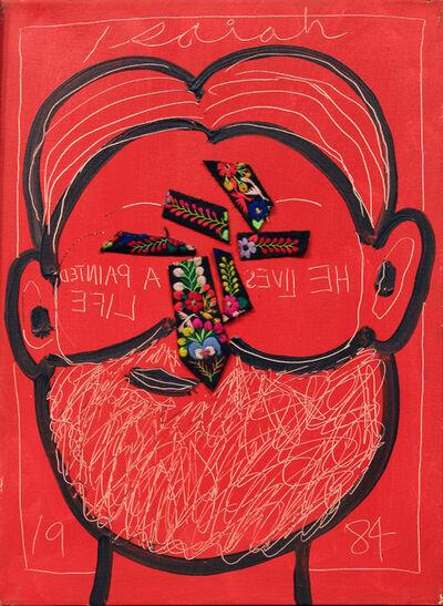 Isaiah Zagar, 'Tie Nose ', 1984