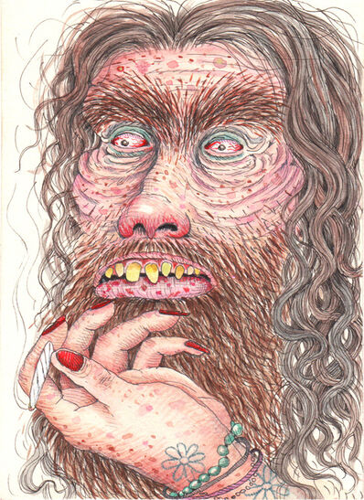 Rebecca Morgan, 'Hippie Mountain Man with Slipping Joint', 2015