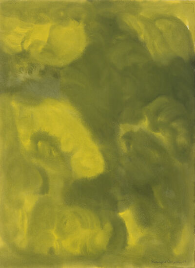 Beauford Delaney, 'No. 1, Yellow and Green.', 1964