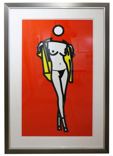 Julian Opie, 'Women taking off man's shirt', 2003