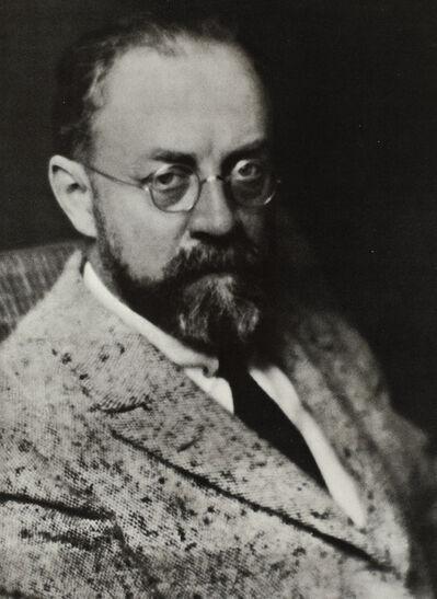Man Ray, 'Henri Matisse', date of negative: 1922; date of print: 1975