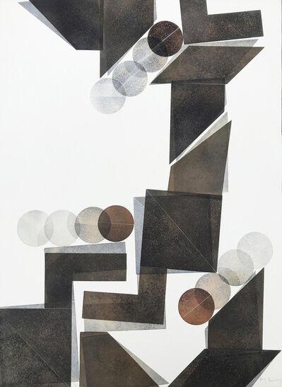 Pol Bury, 'Des idées et des ombres 3', 1973