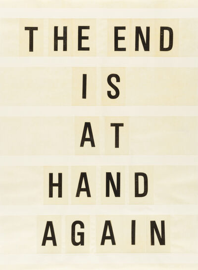 Todd Norsten, 'The End Is At Hand Again #2', 2017