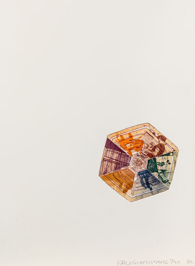 Robert Rauschenberg, '400' and Rising (from L.A. Flakes)', 1982