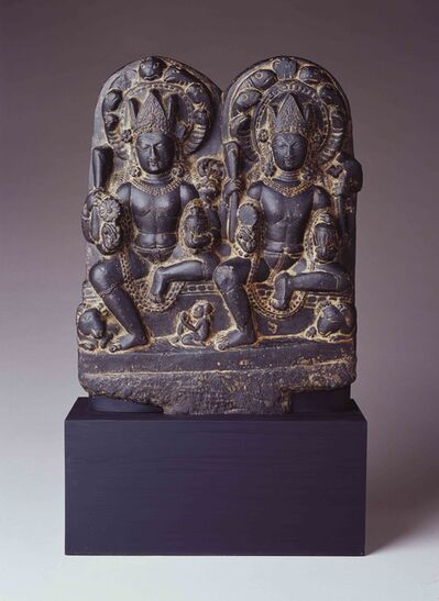 Unknown Indian, 'Two Naga', 10th century