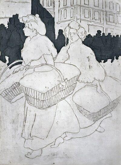 Théophile Alexandre Steinlen, 'The Laundresses', 1898