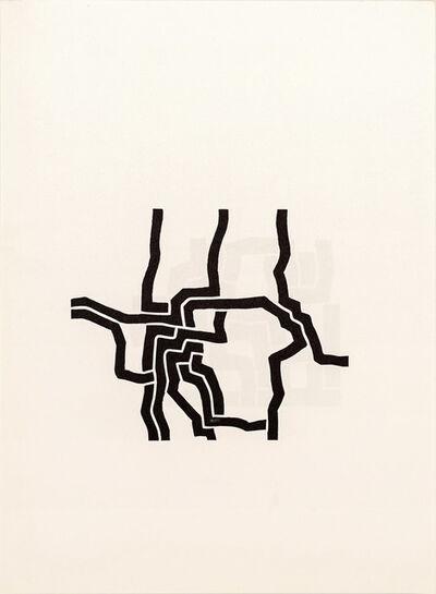 Eduardo Chillida, 'Lithograph from Derrière le Miroir No. 207', 1974