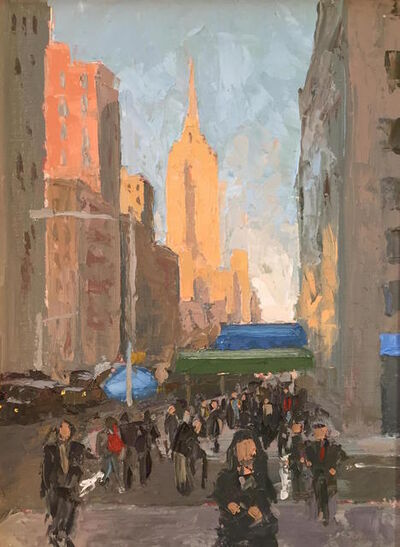 Benjamin Lussier, '5th Avenue Bustle', 2016