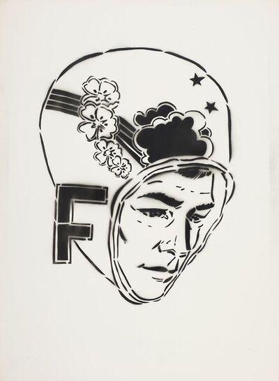 FAILE, 'F Head', 2002