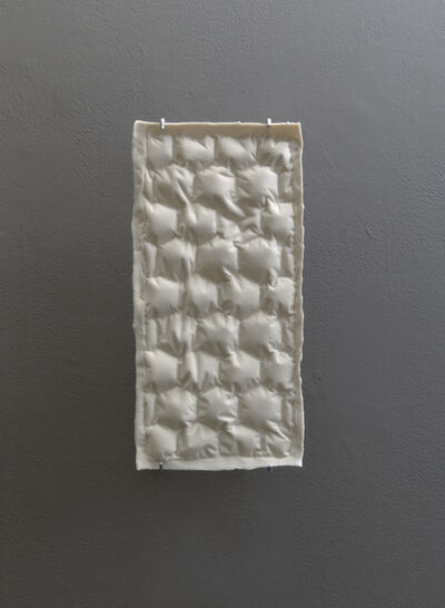 Cynthia Reynolds, 'air pillow packaging, hexagonal : verso', 2018