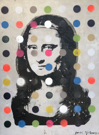 Daniel Maltzman, 'Mona Lisa with Colored Dots', 2021