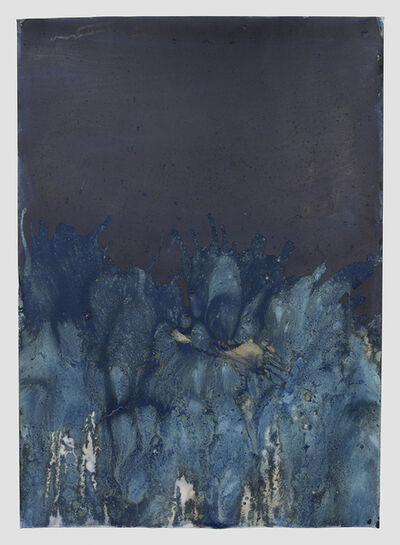 Meghann Riepenhoff, 'Littoral Drift #1013 (Shine Tidelands, WA 02.11.18, Churning Waves and Drizzle)', 2018