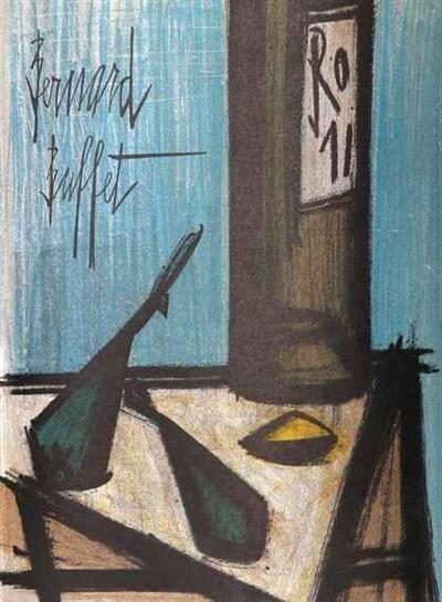 Bernard Buffet, 'Still Life With Bottle', 1952