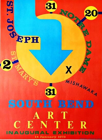 Robert Indiana, 'South Bend Art Center', 1978
