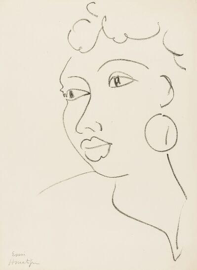 Henri Matisse, 'Haïtienne à la boucle d'oreille', 1945