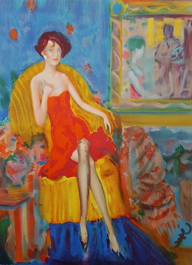 Janusz DeRola, 'Un Soir a Paris', 1990