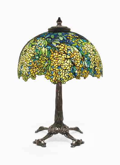Tiffany Studios, 'A 'Laburnum' Table Lamp', circa 1905