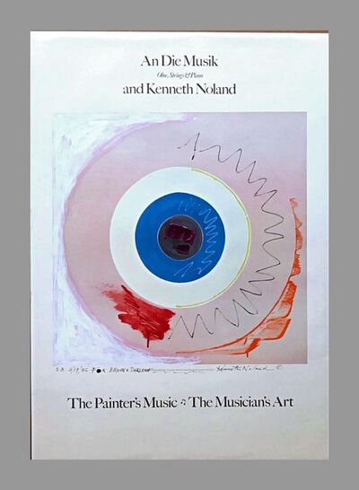 Kenneth Noland, 'The Painter's Music, The Musician's Art ', 1986
