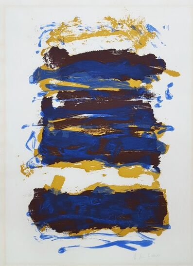 Joan Mitchell, 'Fields IV', 1993