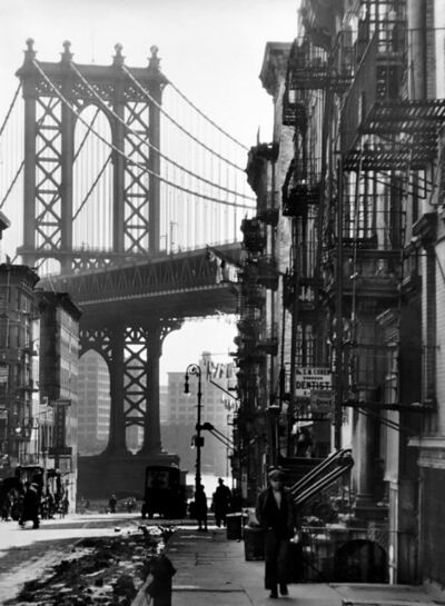 """Berenice Abbott, 'Pike and Henry Streets (from the series """"Changing New York"""")', 1936"""