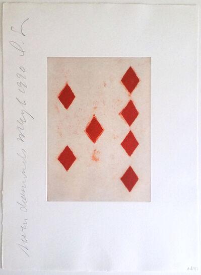 Donald Sultan, 'Seven Diamonds', 1990