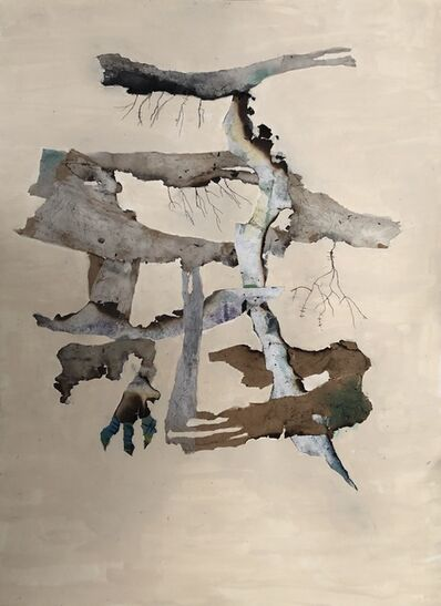 Susan Leskin, 'Broken/Healing, Collage', 2020