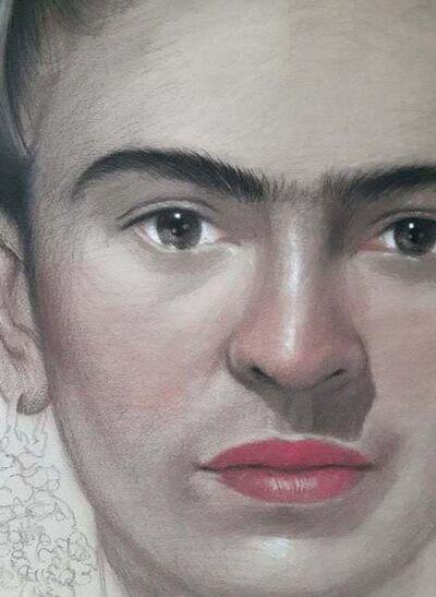 KEEYAPAT KATESAWAI, 'Frida Kahlo', 2019