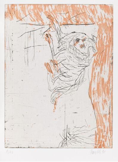 """Georg Baselitz, 'Ricco, from """"Schlafende Hunde""""', 1998-1999"""