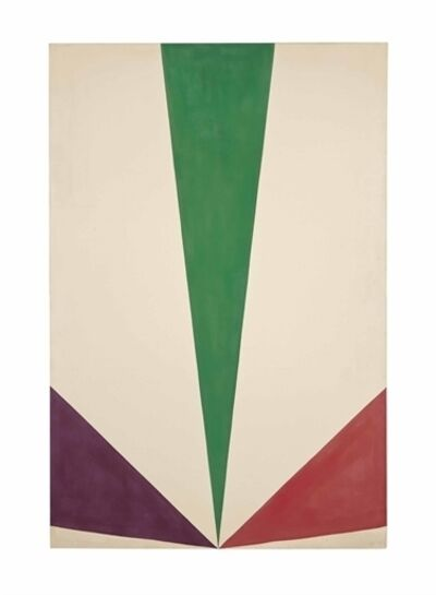 Kenneth Noland, 'Tripex', 1963