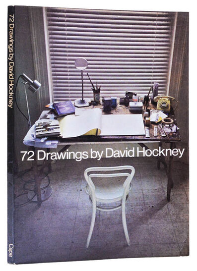 David Hockney, '72 Drawings by David Hockney. Chosen by the Artist.', 1971