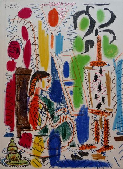 Pablo Picasso, 'L'Atelier de Cannes', 1958