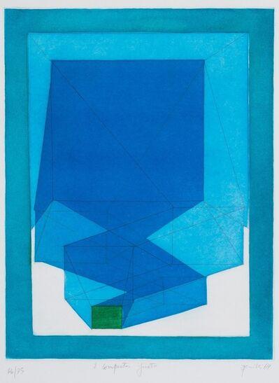 Achille Perilli, 'Ignoto', 1969