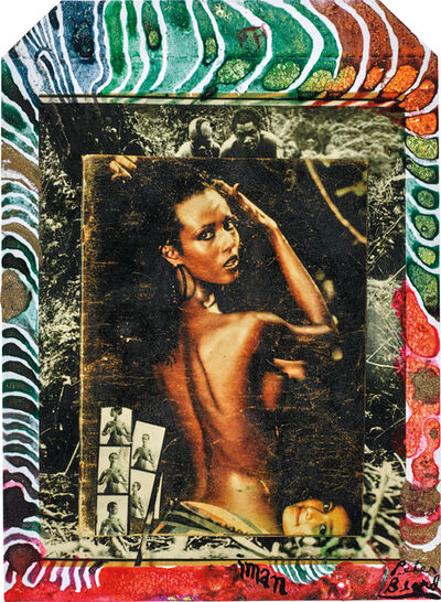 Peter Beard, 'Iman at Hoggers, Kenya', 1984, 1985, executed later