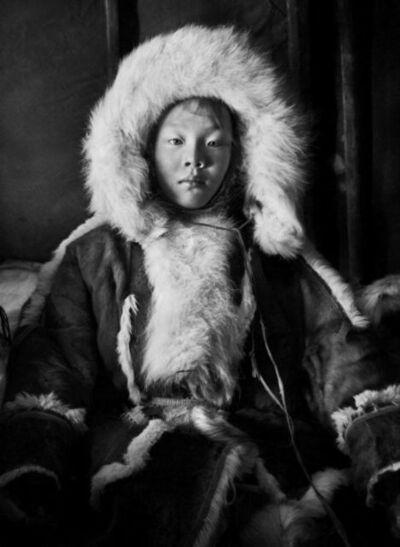 Sebastião Salgado, 'A Portrait of a Young Nenet Girl, Yamal Peninsula, Siberia, Russia', 2011
