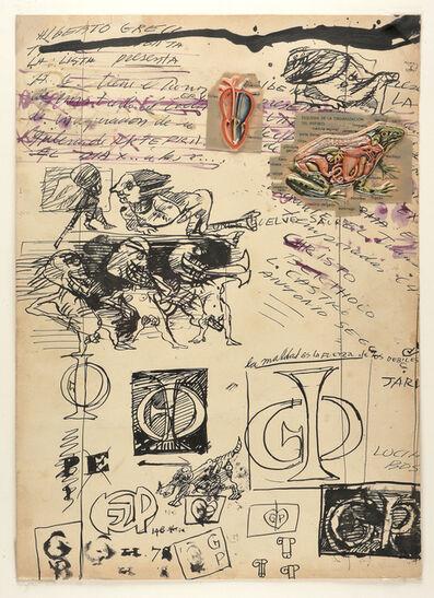 Alberto Greco, 'No title', 1963-1964