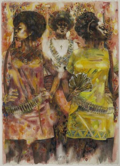 Jeff Donaldson, 'Wives of Shango', 1969