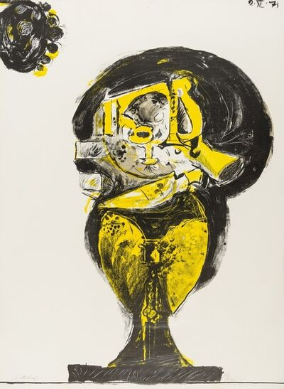 Graham Sutherland, 'Forme de roche dressée (Tassi 115)', 1971