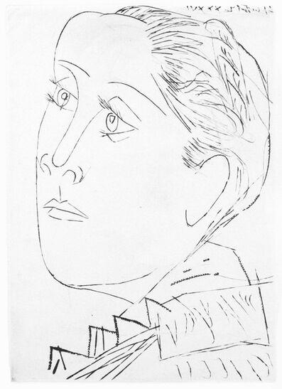 Pablo Picasso, 'Portrait de Dora Maar au Chignon. I', 1936