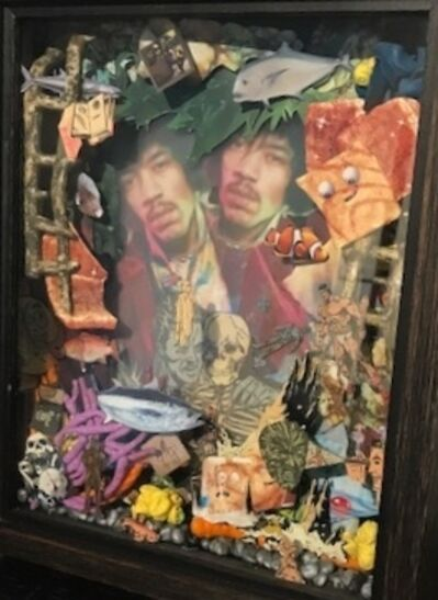 Paul Horn, 'Visions of Jimi Hendrix in the Bottom of My Fish Tank', 2018
