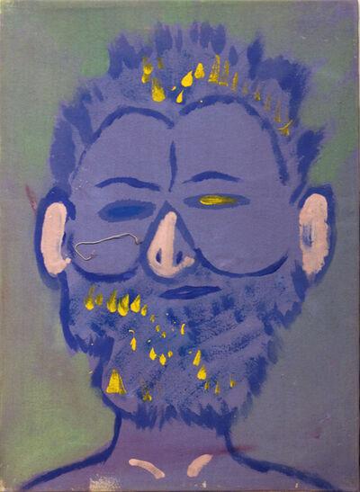 Isaiah Zagar, 'Blue Isaiah II', 1984