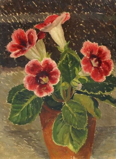 Muriel Minter, 'Flowers in a pot'